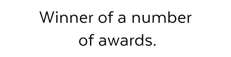 Winners of awards